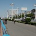 Small photo of Yantai main street in the daylight