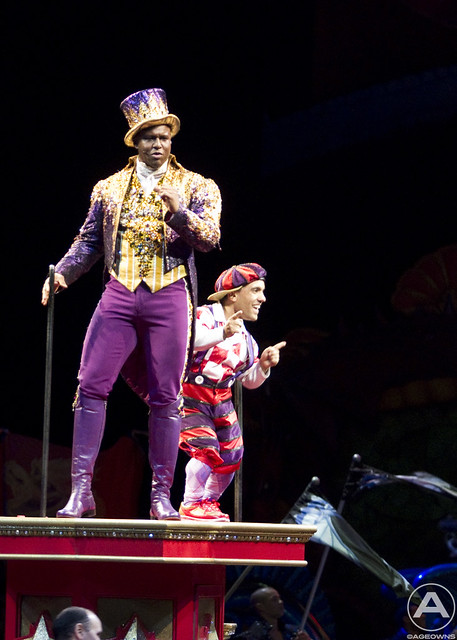 The Ringmaster and friend