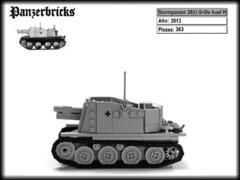 Sturmpanzer 38(t) Grille Ausf H de Panzerbricks