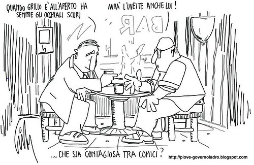 Uveite dei comici by Livio Bonino