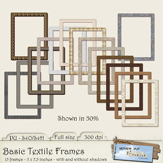Preview - Basic Textile Frames 6x6