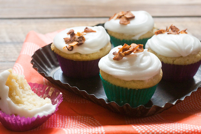 Butterscotch Bacon Cupcakes