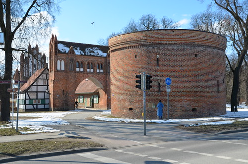 Neubrandenburg, Zingel am Friedländer Tor