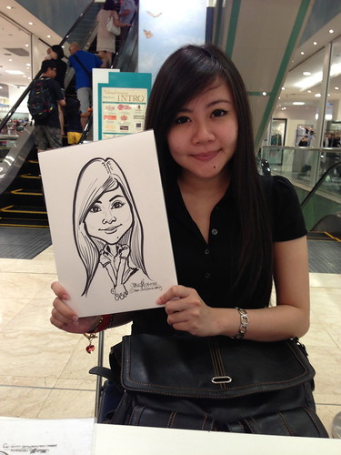 caricature live sketching for Takashimaya Good Friday Special - 17