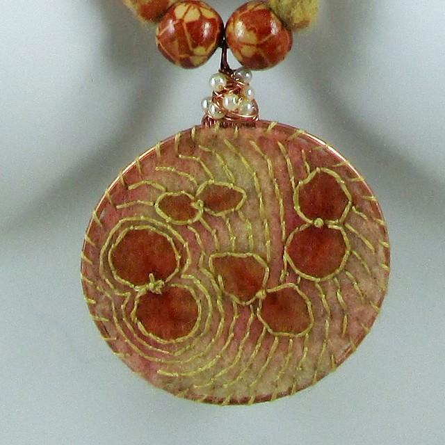 Closeup of pendant