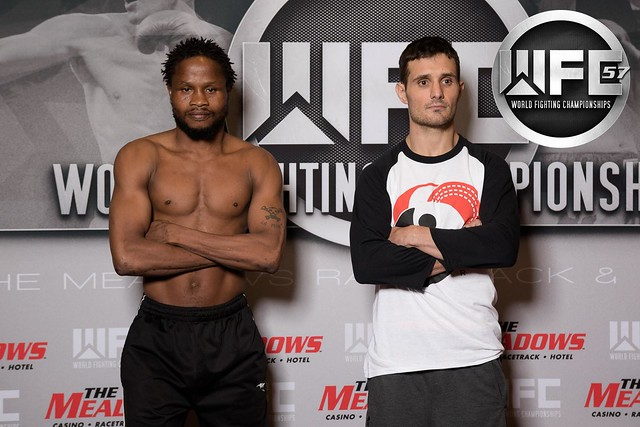 WFC 57 Weigh-Ins Aug 26th,2016 at The Meadows