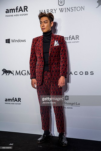 TOP - amfAR Charity Event - Red Carpet - 14mar2015 - Getty Images - 09