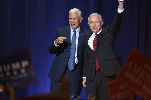 Mike Pence & Jeff Sessions