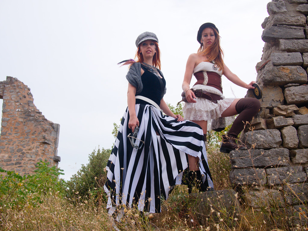 related image - Shooting Steampunk - Château de Valbelle - Tourves -2016-08-20- P1520659