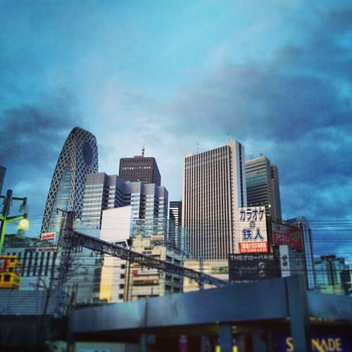 Shinjuku 6:30. Interessants pintes de la penya dissabte de bon matí. #shinjuku #tokyo #japan