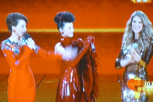 Chine-Celine Dion et Song Zhu Ying (8)