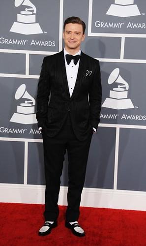 Justin Timberlake. Premios Grammy, versión 55, febrero 10 de 2013, Staples Center, Los Angeles, California, Estados Unidos. Foto cortesía Canal TNT.