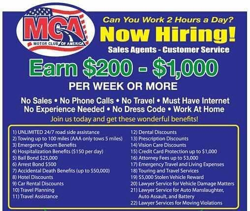 Mca ads explore bosscharm 39 s photos on flickr bosscharm Motor club of america careers