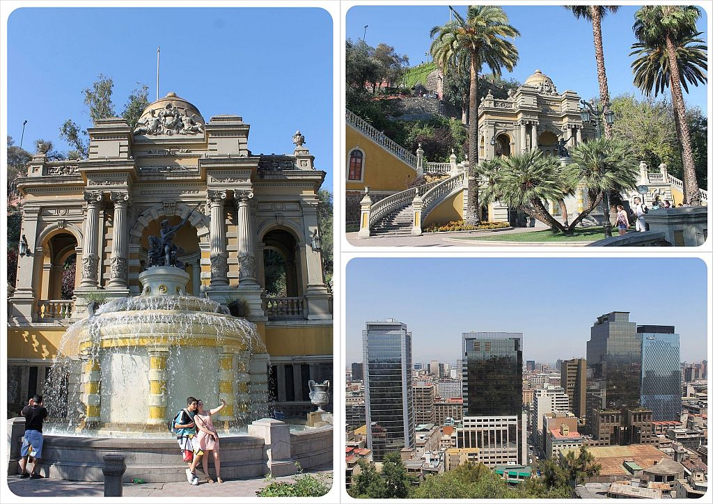 Santiago Cerro Santa Lucia with views