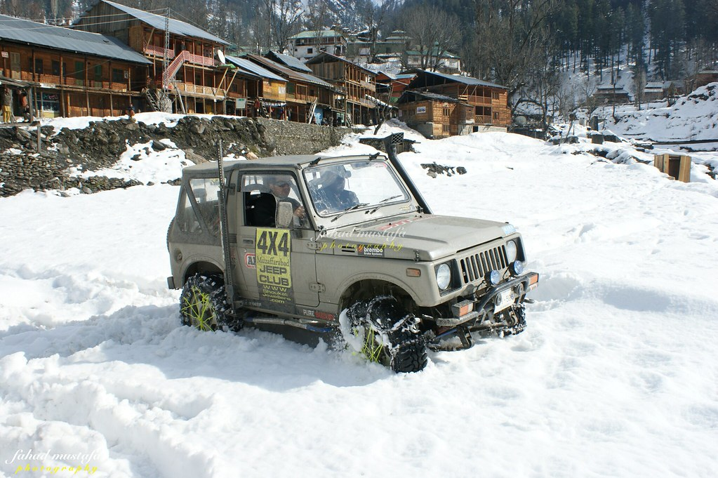 Muzaffarabad Jeep Club Neelum Snow Cross - 8471808056 3b76c6e0d4 b