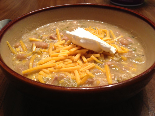 Crockpot White Bean Chili