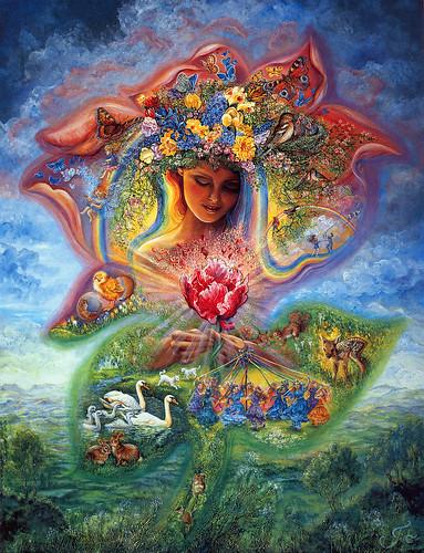 021-Creacion de la primavera-Josephine Wall-via www.dana-mad.ru