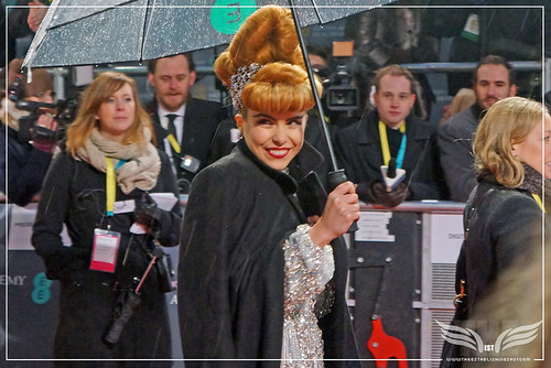 The Establishing Shot: EE BAFTAs RED CARPET PALOMA FAITH ARRIVES by Craig Grobler