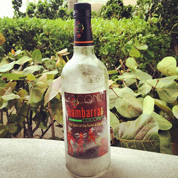 Bambarra rum from Turks and Caicos... I will miss you!