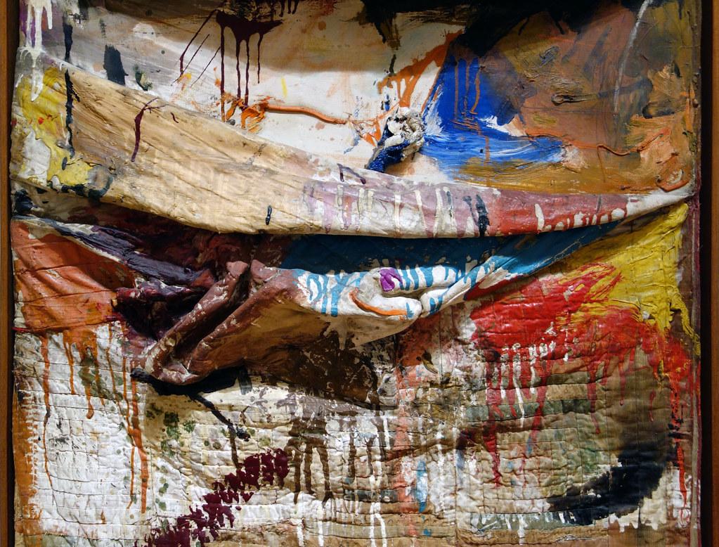 Robert Rauschenberg Bed Detail