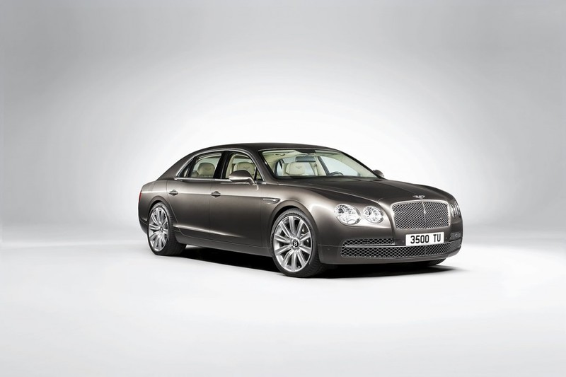 2014 Bentley Continental Flying Spur Front Side