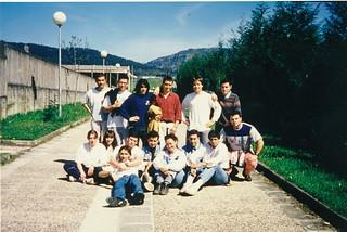 1993-94 ikasturteko ikasleak