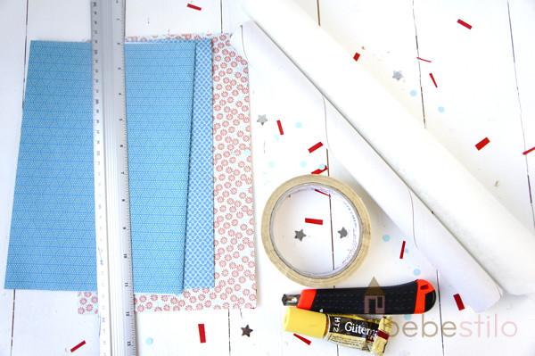 washi tape casero con papel / homemade washi tape paper DIY