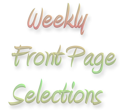 Front page selection CI