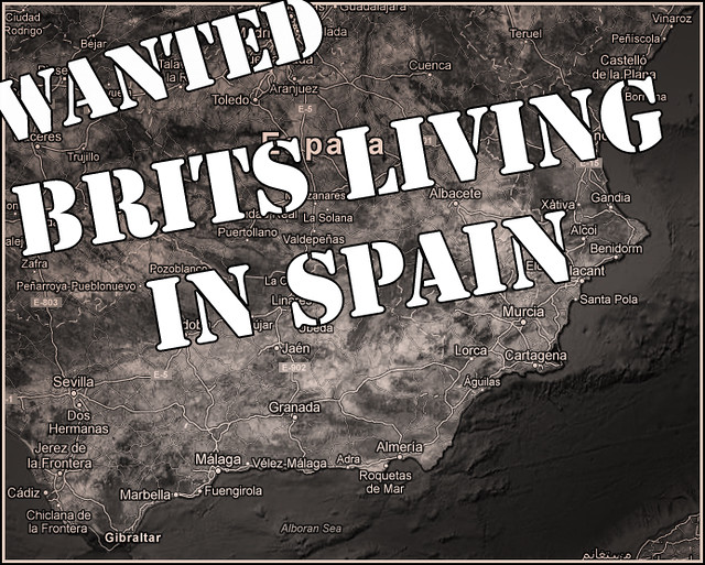 Do you know a British person living in Southern Spain?