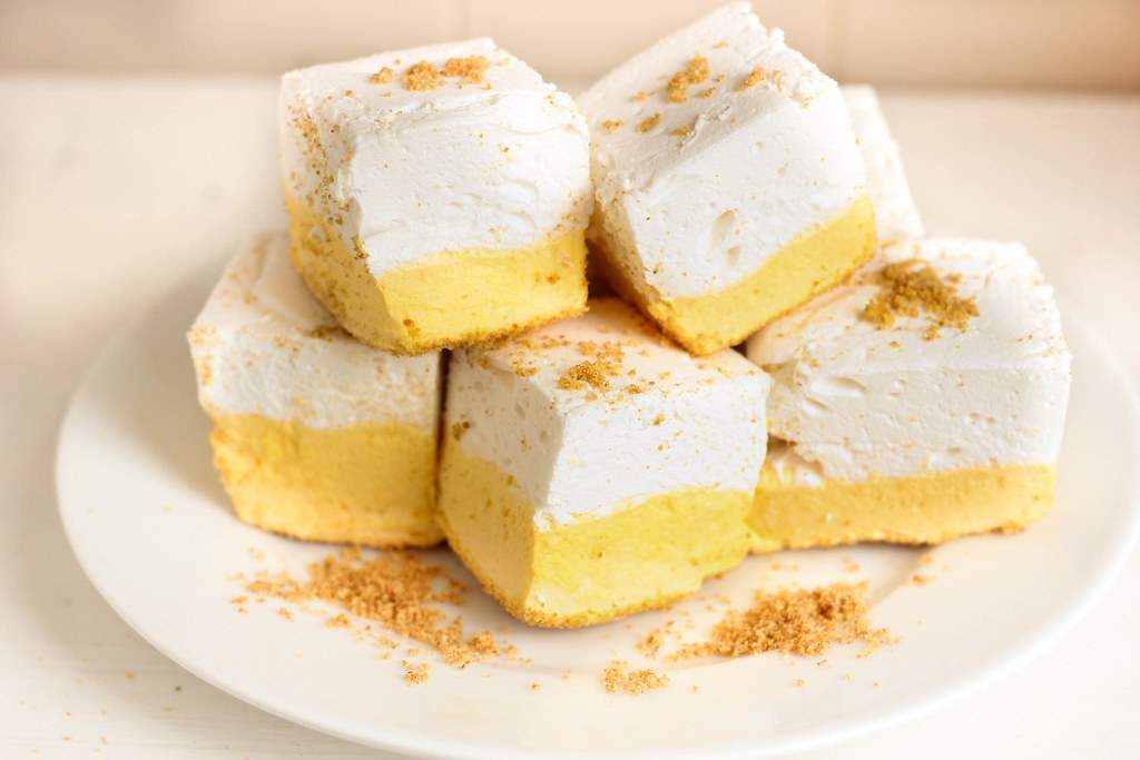 meyer lemon meringue pie marshmallows