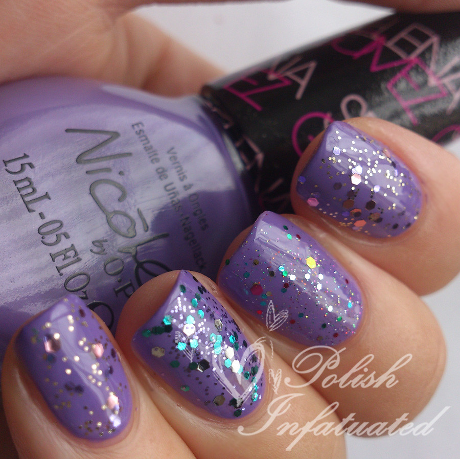 love song layered with glitters