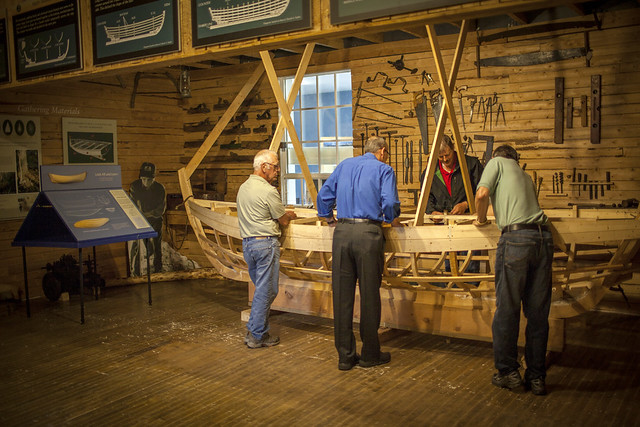 Workshop Exhibit, Wooden Boat Museum of Newfoundland and Labrador