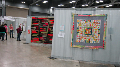 the QuiltCon quilt show