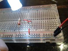 breadboard, circuit component,