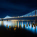 Bay Bridge Lights by Bryan Nabong