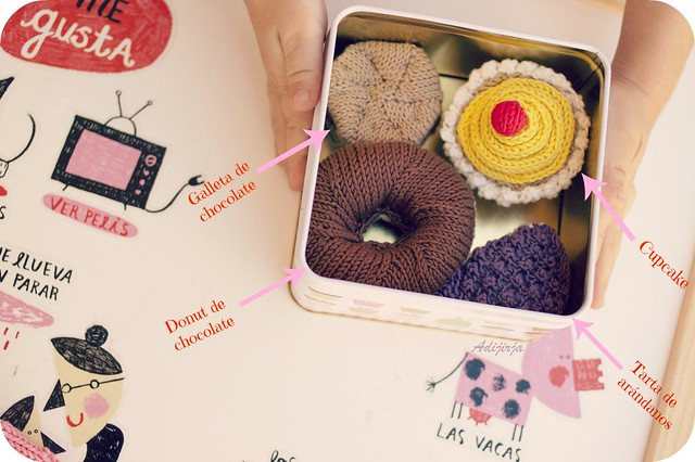 Cajita sorpresa: dulces para  Marina