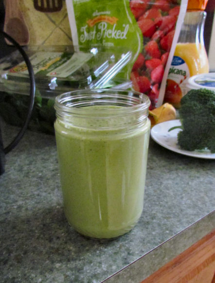 Greener March Challenge Month Smoothie