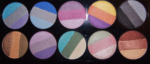 colour unlimited eyeshadows