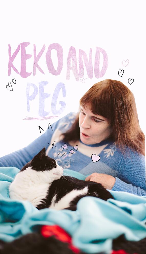 Keko and Peg