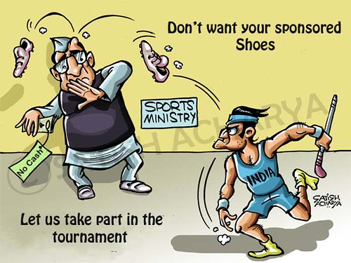 Indian hockey team - sports authorities  killing Indian Hockey