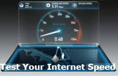 Are you getting the speed you pay for? Speed Test help keep your ISP honest!