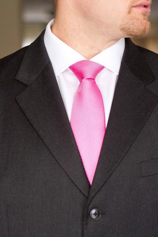 Cody wears pink