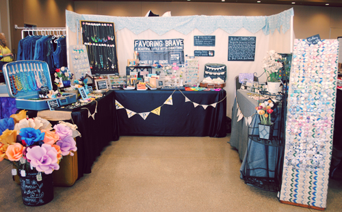Favor the brave craft fair ology be your own favorite booth for How to set up a booth at a craft show