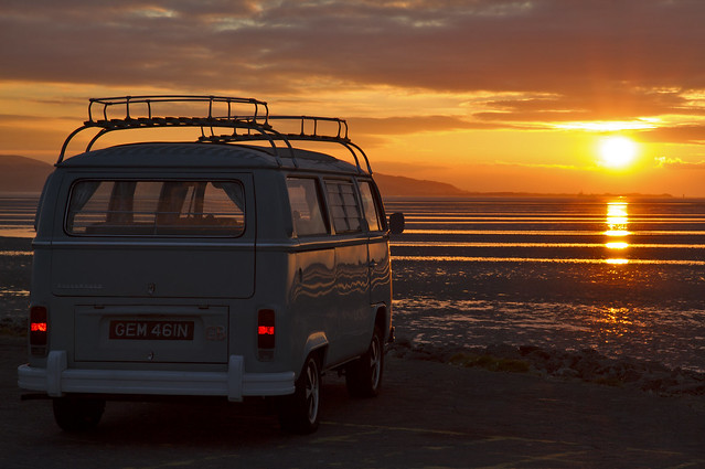 Campervan Sunset (Explored)