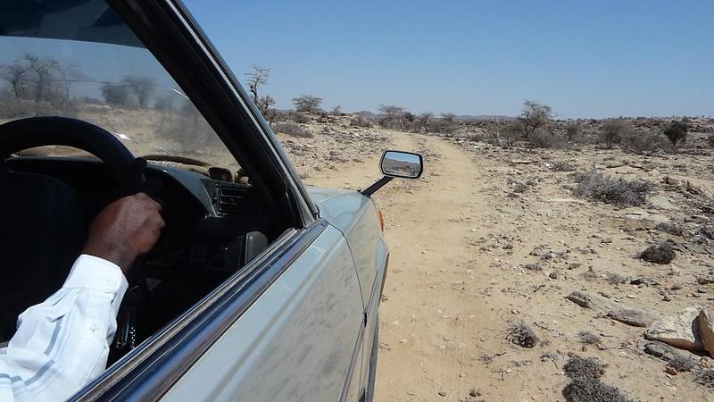 Caminho no Taxi até Las Gaal