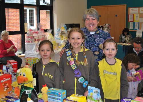 Revd Ruth Dillon & Brownies