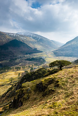 NW, England, Cumbria, Lake District, Thirlmere, Birk Crag