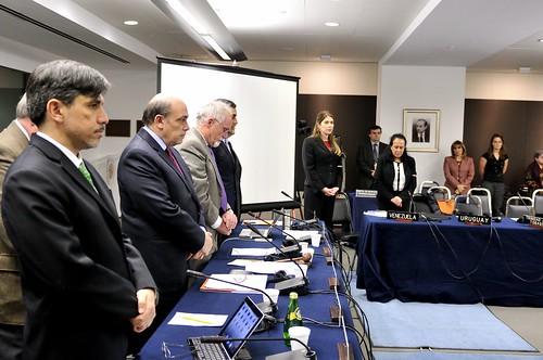 Consejo Permanente de la OEA guardó minuto de silencio en homenaje al Presidente Chávez