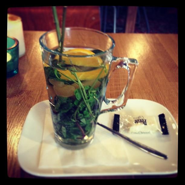 Verse munt thee met gember!