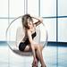 Girl on Heels in a Bubblechair by fotomanufaktur-hertzsch.de
